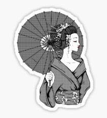 Vecta Geisha Sticker