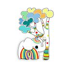 little rainbow elephant iPhone and iPod case by © Karin Taylor