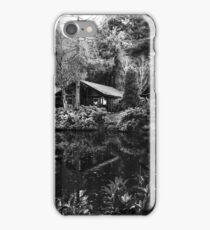 Langdale Lodges (mono) iPhone Case/Skin