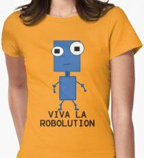 Viva La Robolution Women's Fitted T-Shirt