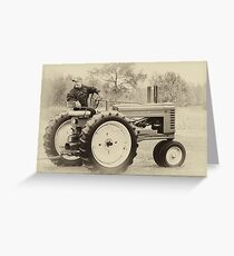 Vintage John Deere Greeting Card