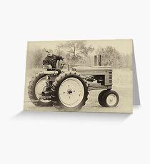 Vintage John Deere Greeting Card