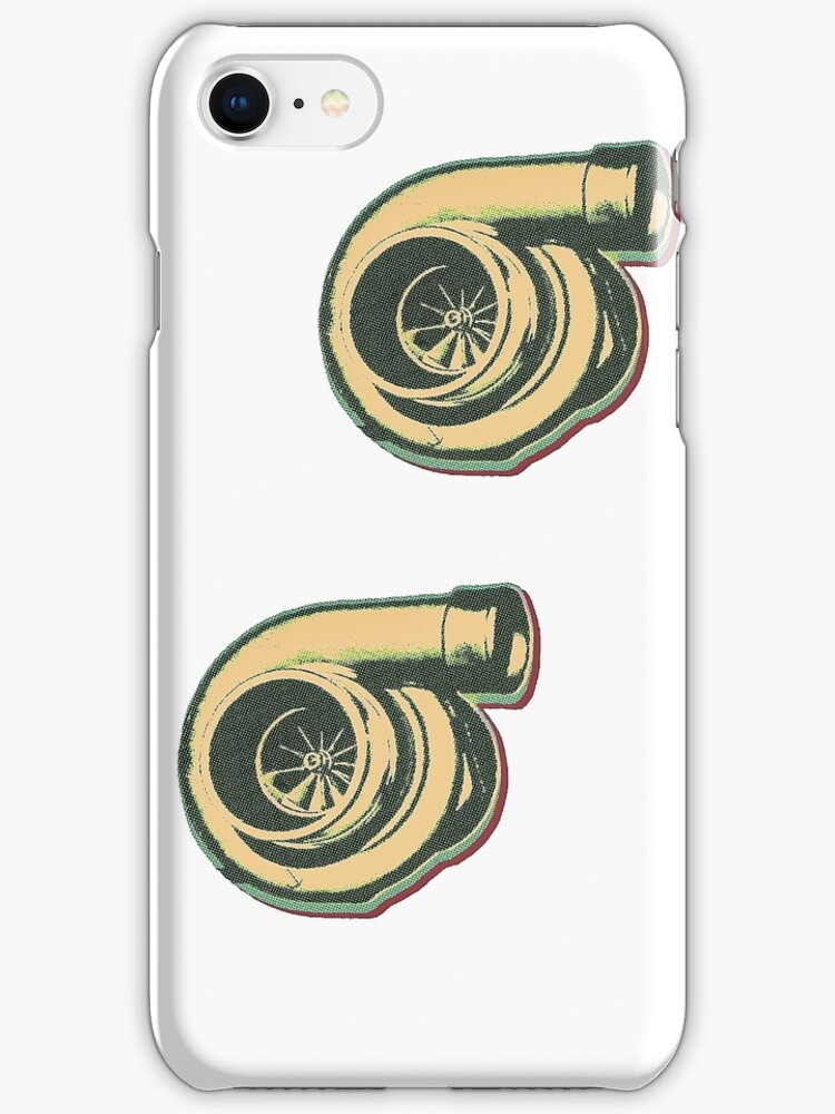 1 Turbo 2 Turbo IPhone/IPod Case by Jessicabritton