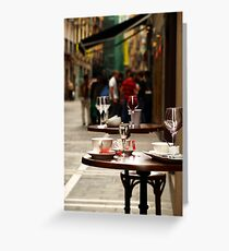 Out for Drinks Greeting Card