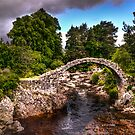 old stone bridge - carrbridge by wulfman65