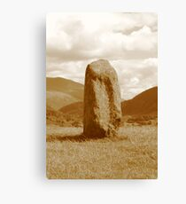 Castlerigg Standing Stone Canvas Print