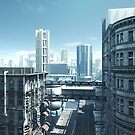Future City - Deserted Streets by algoldesigns