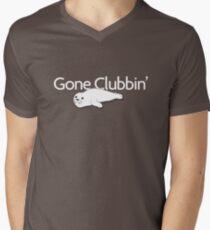 Gone clubbin' Mens V-Neck T-Shirt