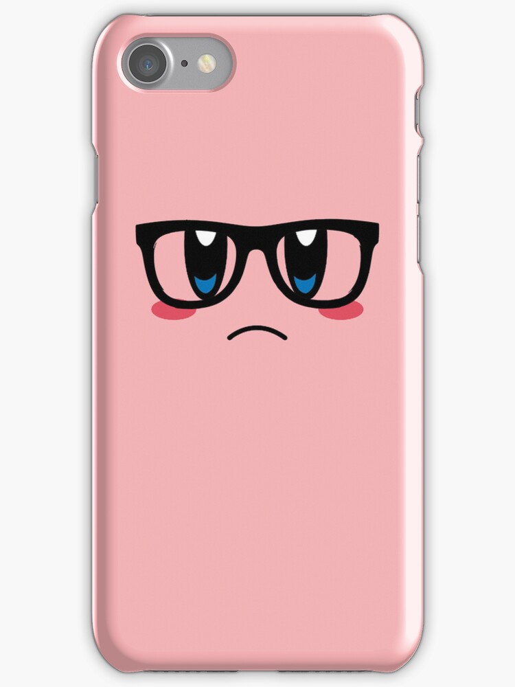 Hipster Kirby by ColinSM