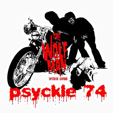 Psyckle74 Wolfman Within by Psyckle74