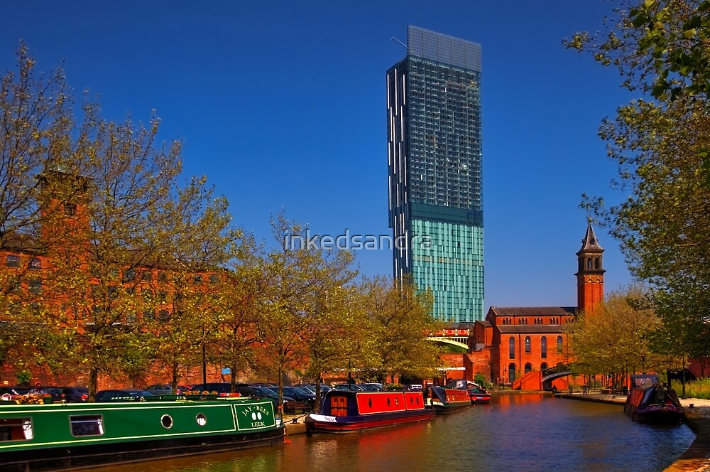 Sunny day on the canal by inkedsandra