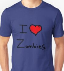 i love halloween zombies Unisex T-Shirt
