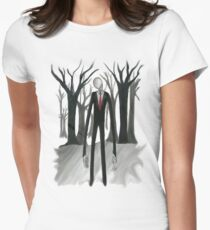 Slenderman Women's Fitted T-Shirt