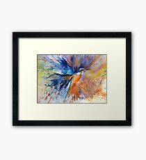 """As kingfishers catch fire..."" Framed Print"