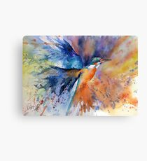 """""""As kingfishers catch fire..."""" Canvas Print"""