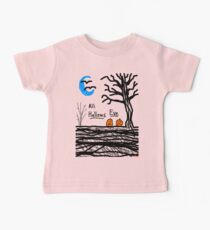 halloween jack o lantern all hallows eve Baby Tee