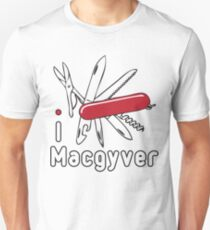 I LOVE MACGYVER T-shirt Unisex T-Shirt