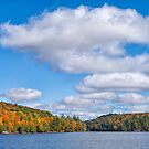 Meech Lake in the Fall  by Daniel  Parent