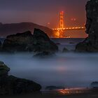 Golden Gate on the Rocks by MattGranz