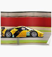 JMW Motorsport Ferrari No 66 Poster