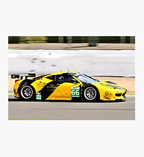 Ferrari 458 No 66 Photographic Print