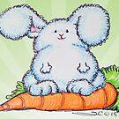 Fluffy Fabulous Bunny  by Sonya Craig