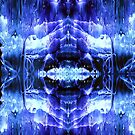 Ice Cave Ink Blot by Marvin Hayes