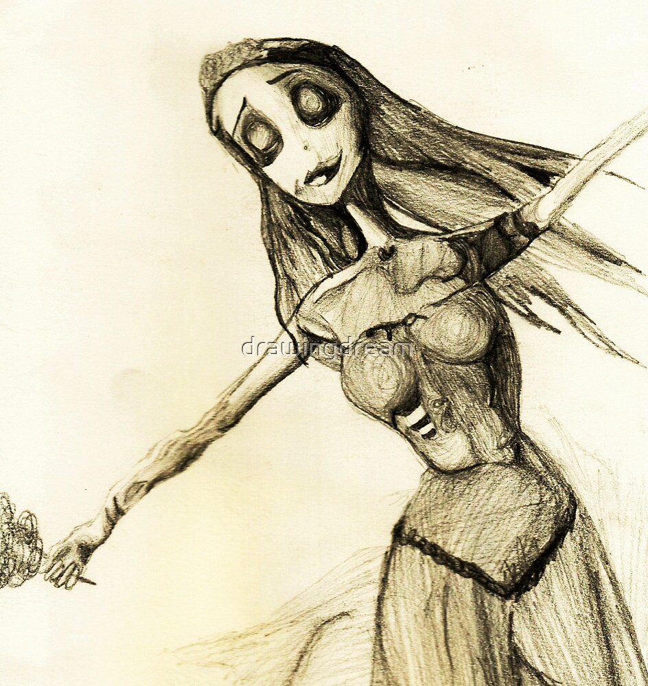 Corpse  Bride by drawingdream