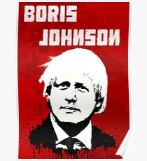 Boris Johnson / Che Guevara Poster
