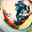 Food Coloring with Milk and Soap by Stuart Steele