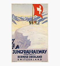 Vintage poster - Switzerland Photographic Print