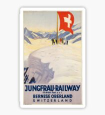 Vintage poster - Switzerland Sticker