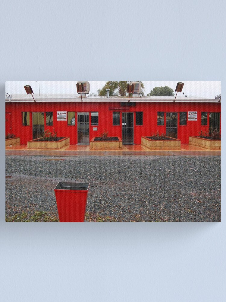 Alternate view of Red Buildings  Canvas Print