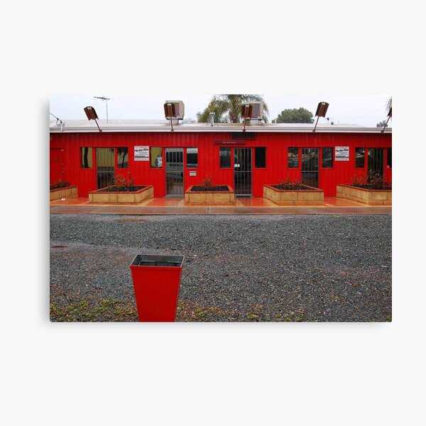 Red Buildings  Canvas Print