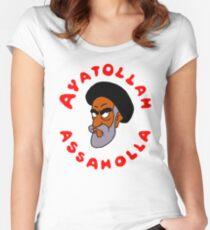 aya ass Women's Fitted Scoop T-Shirt