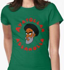 aya ass Womens Fitted T-Shirt