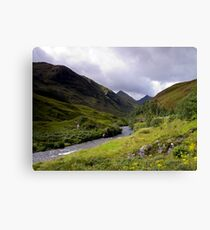 Glen Shiel Canvas Print
