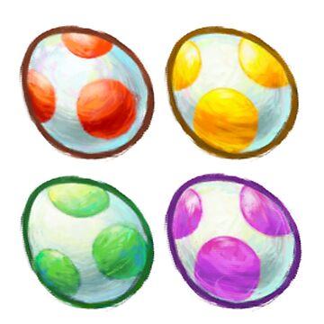 Yoshi's Eggs by eazypeazy