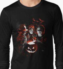 Super Villains Halloween Long Sleeve T-Shirt
