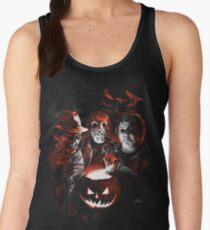 Super Villains Halloween Women's Tank Top