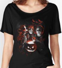 Super Villains Halloween Women's Relaxed Fit T-Shirt