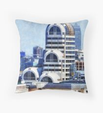 Modern Art Deco Throw Pillow