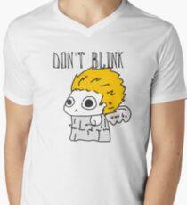 Blink and ur ded. Men's V-Neck T-Shirt