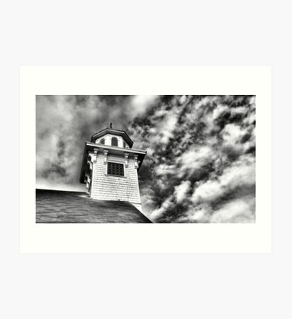 Old Church in Independence Oregon Art Print