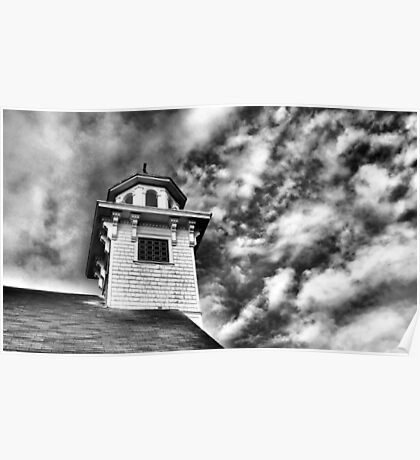 Old Church in Independence Oregon Poster