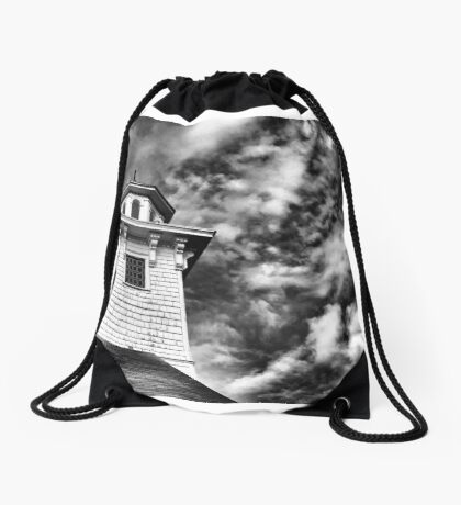 Old Church in Independence Oregon Drawstring Bag