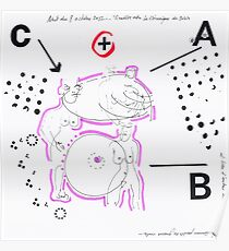 Night Drawings #75 - Breast ? Poster