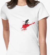 hara-kiri samouraï Women's Fitted T-Shirt