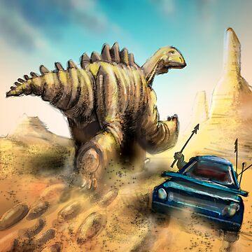 Dinosaur Hunt by MBJonly