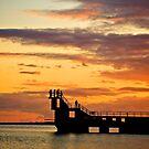 blackrock sunset by Michelle McMahon